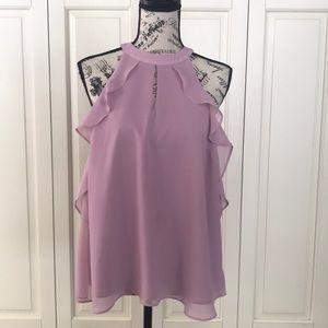"LC Lauren Conrad ""Runway""Sleeveless Blouse size M"